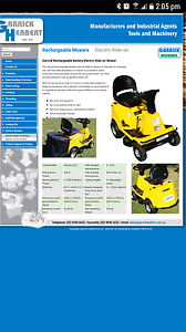 Electric Ride On Mower - Garrick Sussex Inlet Shoalhaven Area Preview