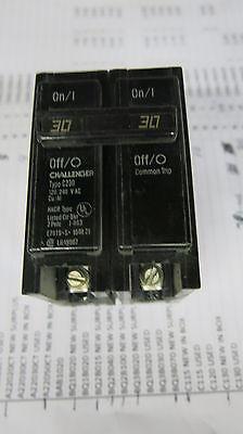 Challenger C230 2 Pole 30 Amp Circuit Breaker- Warranty