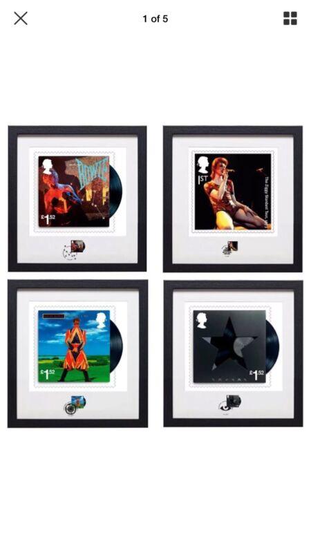 David Bowie Framed Stamps