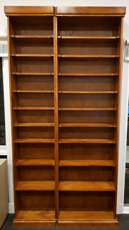 Large Timber Bookcase