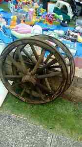Old style wagon wheels Cabramatta West Fairfield Area Preview