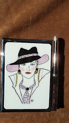 Personalized Expressions 1507 Pink Hat Womens Note Pad Wpen
