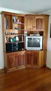 Solid Timber Corner Wall / Entertainment Unit Mulgrave Monash Area Preview