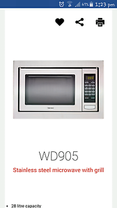 Technica microwave oven and grill Hallam Casey Area Preview
