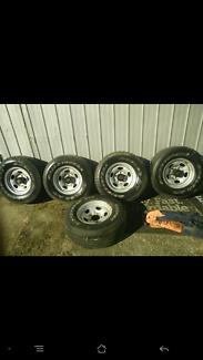 X5 Toyota landcruiser Rims & Tyres Traralgon Latrobe Valley Preview