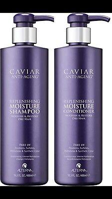 (Alterna Caviar Moisture Shampoo & Conditioner 16.5 Oz Duo Set)