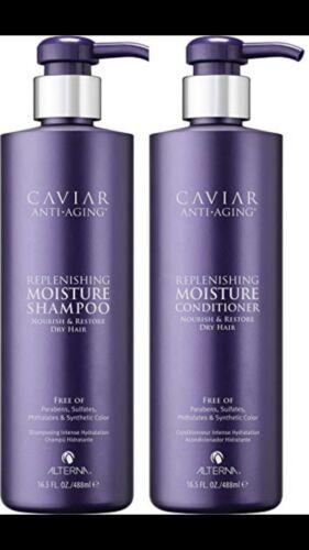Alterna Caviar Moisture Shampoo & Conditioner 16.5 Oz Duo Se