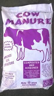 Cow Manure  100% organic  Parramatta area