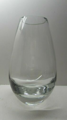 VINTAGE RETRO SWEDISH ART GLASS VASE SCANDINAVIAN MID CENTURY