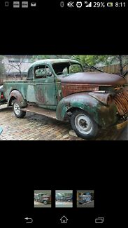 1946 chev ute Heyfield Wellington Area Preview