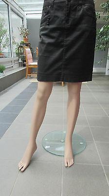 Geisha Mini (Geisha - Minirock dunkelbraun gewachst Gr. S)