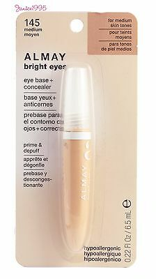 ALMAY Bright Eyes Eye Base + Concealer # 145 FOR MEDIUM SKIN TONES - Almay Bright Eyes