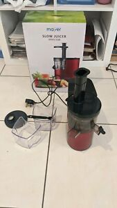 Mayer cold press style juicer