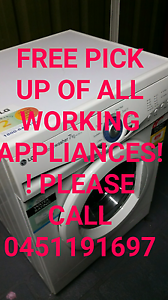 APPLIANCES WANTED! Free pick up Campsie Canterbury Area Preview