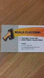 WAALIA PLASTERING Perth Perth City Area Preview