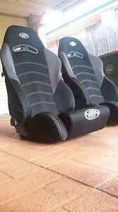 GT Dual Reclining Racing Seats Pair Glenwood Blacktown Area Preview