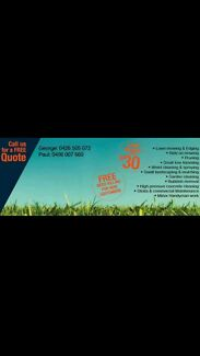 Lawn mowing and maintenance  Moorebank Liverpool Area Preview