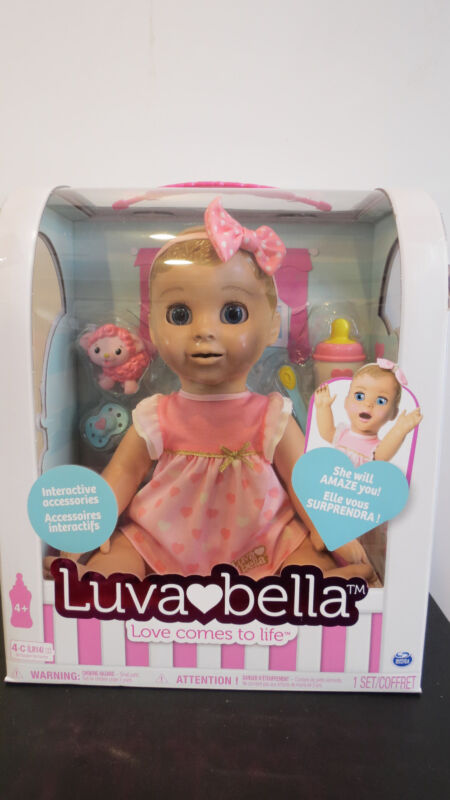 NEW Luva Bella Luvabella Doll Blonde Girl IN HAND