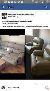 WTB Reclining couch & chairs Ballarat Central Ballarat City Preview