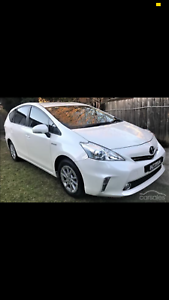 Available for Uber Xl uber x Toyota Prius V 6 seater ride sharin