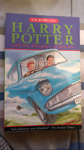 Two Harry Potter novels Modbury Tea Tree Gully Area Preview