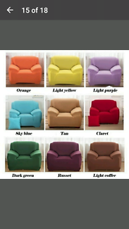 Sofa / Lounge cover 3 seater size..claret colour ...New