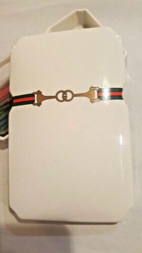 Gucci Vintage Porcelain Incense Holder Trinket Buckle & Horsebit