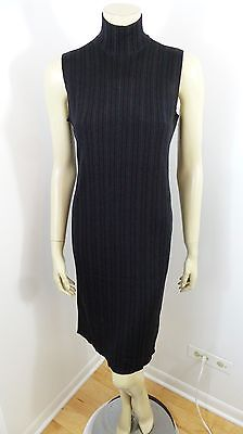 Ralph Lauren Black Label Black Sleeveless Stretchy Woman Dress Size M