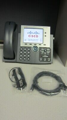 Cisco Cp-7945g Charcoal Ip Display Speakerphone 10 In Stock