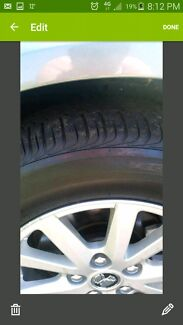Brand new commodore rims and tyres Muswellbrook Muswellbrook Area Preview