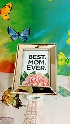Bath Body Works Rose Best Mom Ever Frame Wallflower fragrance Plug