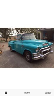 CLASSIC 1955  GMC PICK UP TRUCK 350 CHEV 2SPEED AUTO Chirnside Park Yarra Ranges Preview