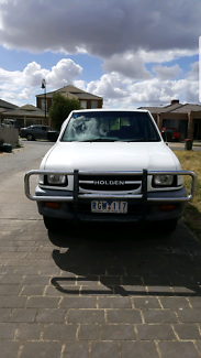 2000 Holden Rodeo R9 LX