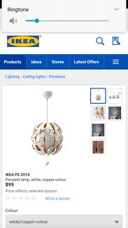 Ikea pendant light