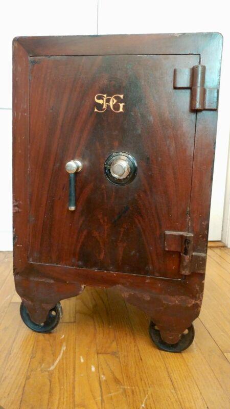 Large Vintage Floor Safe $450 or best offer