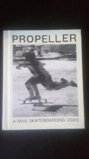 Vans Propeller Book and dvd (skate video)