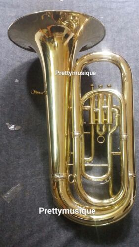 TUBA IN EB FLAT OF PURE BRASS IN GOLDEN POLISH +HARD CASE +FREE SHIPPING OFFERED