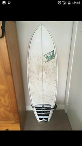 Surfboard 5'10 Daceyville Botany Bay Area Preview