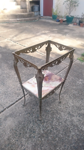 Brass side table Bankstown Bankstown Area Preview
