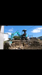 Kobelco 3 ton excavator Wallsend Newcastle Area Preview