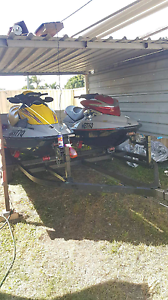 2 x Jetskis & Camper Trailer... Swap for Decent Boat Boronia Heights Logan Area Preview