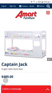 Captain Jack bunk bed