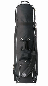 Brand New Golf Bag Premium Travel Cover -On Wheels -Padded Top -Fits Most Bags