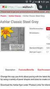Wanted, steel grey ashlar paving $$$ South Guildford Swan Area Preview