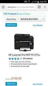HP printer Swan View Swan Area Preview