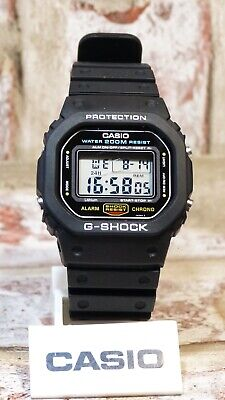 Casio G-Shock DW-5600c-1 Module 691 Screw down case back Vintage 1987 'SPEED'