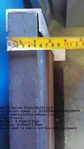 RETAINING WALL POST FOR 50MM SLEEPER-GALVANISED STEEL H POST