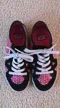 Vans Girls size 2.5 US Redhead Lake Macquarie Area Preview