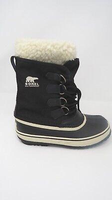 Sorel Damen Schnee (Sorel Schwarze Farbe Damen Karibu Schneestiefel Size 6)