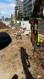 Excavator hire tight access landscaping tipper hire concrete rem Harrington Park Camden Area Preview